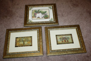 Three Matching Pictures