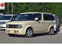 2007 (57) NISSAN CUBE CUBIC 1.5 S Automatic 7 Seater MPV Vanilla 4x4 4WD