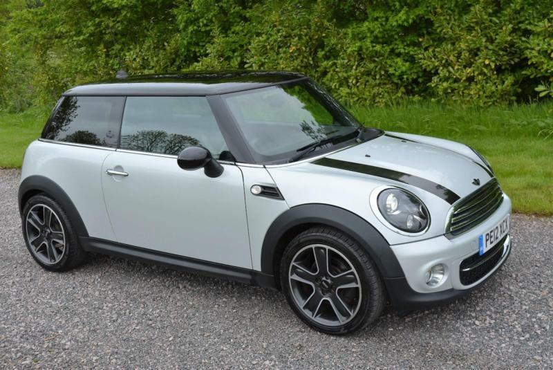 mini cooper d soho 3dr 2012 diesel white silver leather xenon tax 0 in leicester. Black Bedroom Furniture Sets. Home Design Ideas