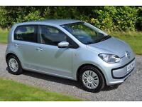 Volkswagen up! 1.0 BlueMotion Tech 2012 62 Move Up 5DR SILVER AC TAX £0 A YR