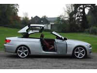 BMW 3 SERIES 330I SE, M-SPORT RED HEATED SEATS, PRO NAV, iDRIVE, ELEC FOLD MIRR