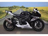 Suzuki GSXR600 **R&G Tail Tidy, Datatag Protection, Adjustable Levers**