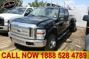 2008 Ford F-350 Super Duty Lariat 4x4 Crew 8 Ft Box Dually DIESE
