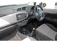 2011 Toyota Yaris 1.33 VVT-i T Spirit 5dr Petrol red Manual