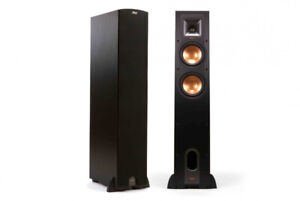 Klipsch R-26F Tower Speaker - Black (Pair)