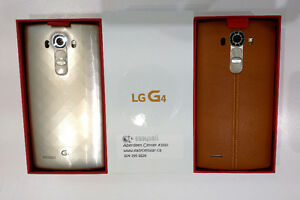 Brand new Unlocked LG G4 32GB H815 LTE Brown Leather back