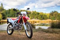SOLD 2014 CRF 250L $5000 or Trade for KLR 650/Adventure bike