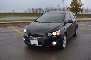 2013 Chevrolet Sonic LTZ Turbo, Leather, Sunroof