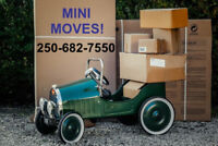 Mini Moves - Will Transport Your Luggage, You Can Ride FREE!