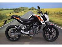 KTM Duke 125 **Excellent Condition, Low Mileage, ABS**