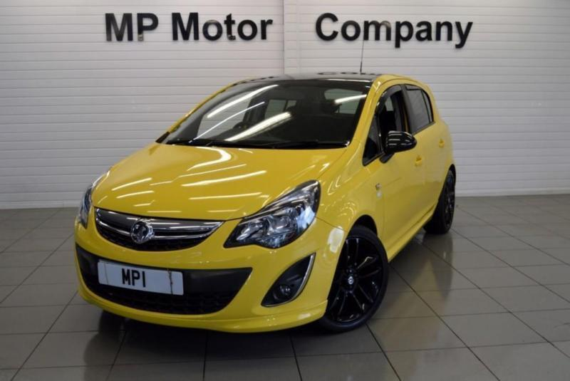 2014 14 VAUXHALL CORSA 1.2 LIMITED EDITION 5D 83 BHP SPORTS HATCH, 25-000M FVSH