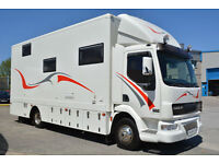 2006 Leyland DAF 150 Racehome With Large Garage