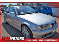2001 BMW 330 330CI 3L PETROL AUTOMATIC - F/S/H