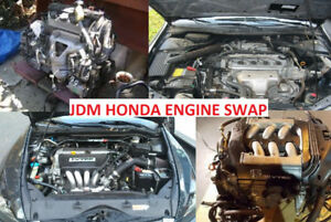 HONDA/ACURA ENGINES LOW KM--JDM IMPORTED ENGINES