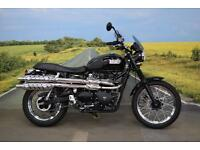 Triumph Bonneville Scrambler *Triumph Tor Pipes, Bullet Indicators, Fly Screen*