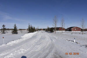 2.22 ACRES East of Carstairs with HOME & GARAGE FOR SALE
