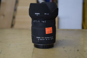 Sigma 18-125mm 3.5-5.6 Lens - Canon Mount - GREAT DEAL