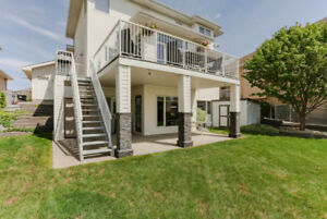 Waterfront Walkout,  2 Master Suites, 3 Car Garage, Showstopper