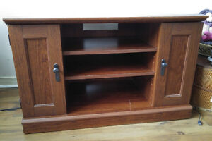 TV/Entertainment Stand with storage for sale