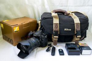 Infra Red Nikon D7000 + 18-200mm Lens + More - Complete Kit