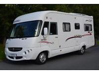 2008 RAPIDO 987F 4 BERTH FIXED BED A CLASS MOTORHOME FOR SALE