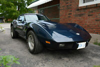 1978 Corvette 25th Anniversary Edition 350, L82, 4spd