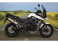 Triumph Tiger 800 XRx **Arrow Exhaust, Heated Grips, Spotlights**
