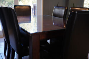 Kitchen/Dining Table & Chairs - Maple