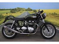 Triumph Thruxton 900 ** Heated Grips, FSH, only 2 owners **