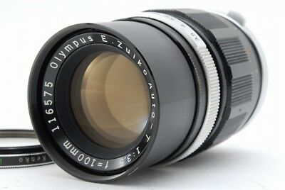 【EXC++】Olympus E.Zuiko Auto-T 100mm F3.5 for Pen F FT  From Japan