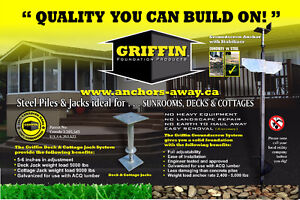 DIY Piling for Decks,Sunrooms & Additions! Locally owned!