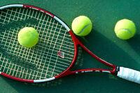 Recherche d'un partenaire  tennis homme de niveau intermédiaire