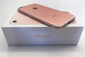iPhone 7 Rose Gold - 128 GB Like Brand New in Box (BNIB)