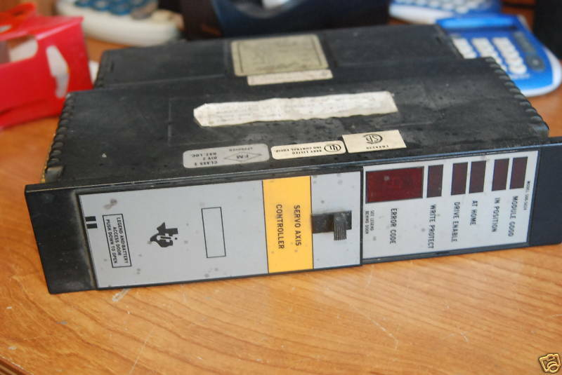 Texas Instruments 500-5024 Servo Axis Controller