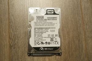 500GB HDD - WD BLACK