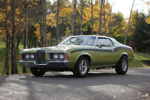Gorgeous 1972 Mercury Cougar Coupe