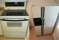 Kenmore Stove and Fridge Combo