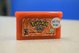 Pokemon Fire Red Version - Gameboy Advance (GBA)