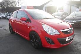 2011 11 VAUXHALL CORSA 1.2i 16v Limited Edition ( a/c ) IN RED