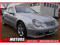 2008 Mercedes C-class C200 2.2 Cdi Se COUPE AUTOMATIC Was £3995 Now £3695