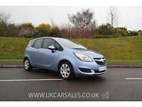 2014 Vauxhall Meriva 1.6 CDTi ecoFLEX 16v Exclusiv 5dr (start/stop, a/c)
