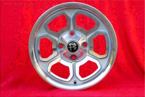 Momo Vega 6x14 ET23 Silver Alfa Romeo Giulia GT GTA Spider