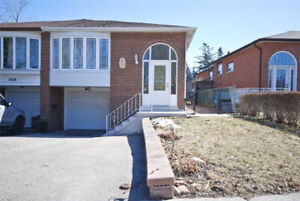 Renovated Raised-Bungalow Located In Central Mississauga