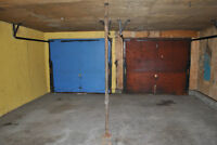 Secure Heated Double Garage Perfect for a Workshop