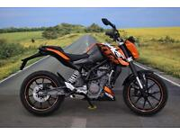 KTM 125 Duke **Good Condition, LED Indicators, 12 Months MOT**