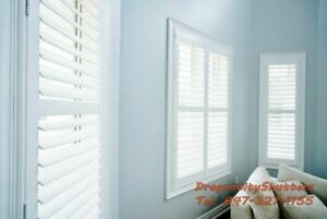 WINDOW BLINDS & SHUTTERS FOR SALE 647-327-1155