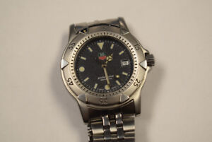 Tag Heuer 1500 Series Wd1211-K-21 Professional Watch