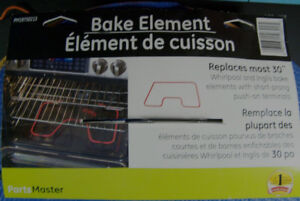 BAKE OVEN ELEMENT FOR YOUR STOVE NEW FOR WHIRLPOOL INGLIS
