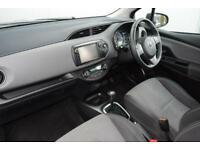 2015 Toyota Yaris 1.5 Icon e-CVT 5dr PETROL/ELECTRIC black CVT