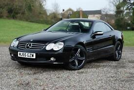 MERCEDES SL350 3.7 - COST NEW £66,530, BLACK, TIP-TRONIC AUTO